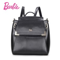 Barbie Women backBags 2018 New girls black backpack Small Bag Fashion Trend Brief Shoulder Bag For Ladies